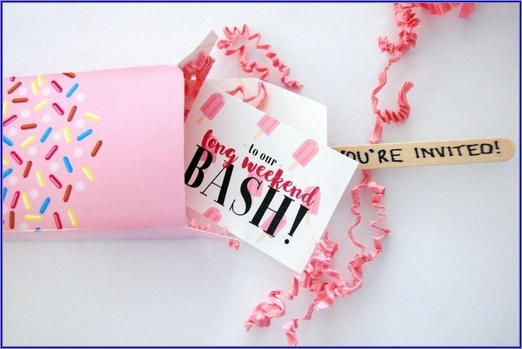 Birthday Invitation Message For Girl