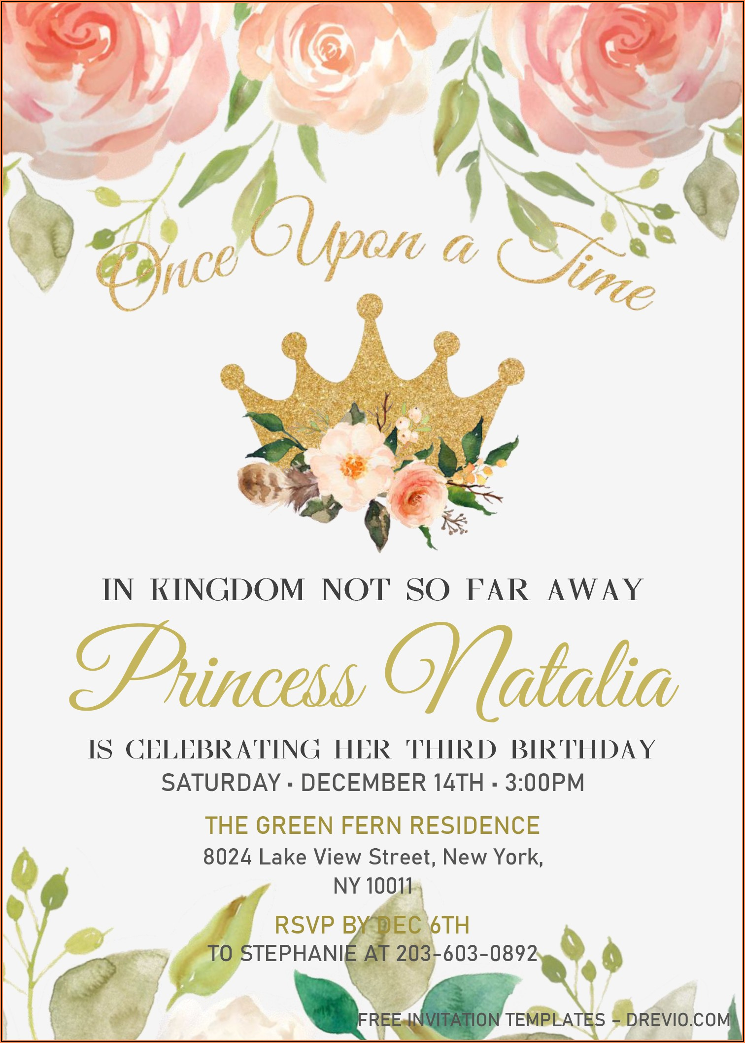 Birthday Invitation Templates Free Microsoft Word