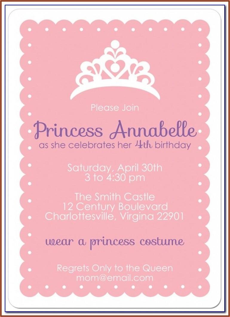 Birthday Invitation Templates With Photo Free