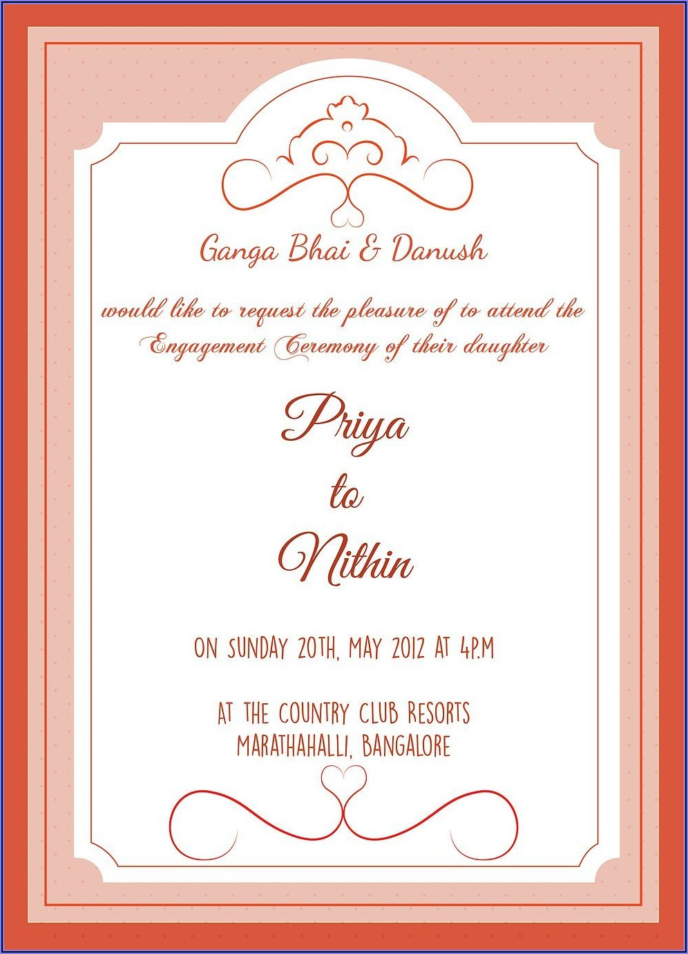 Birthday Invitation Text In Hindi