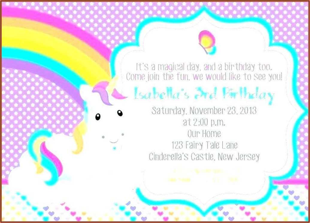 Birthday Invitation Video Templates Free Download