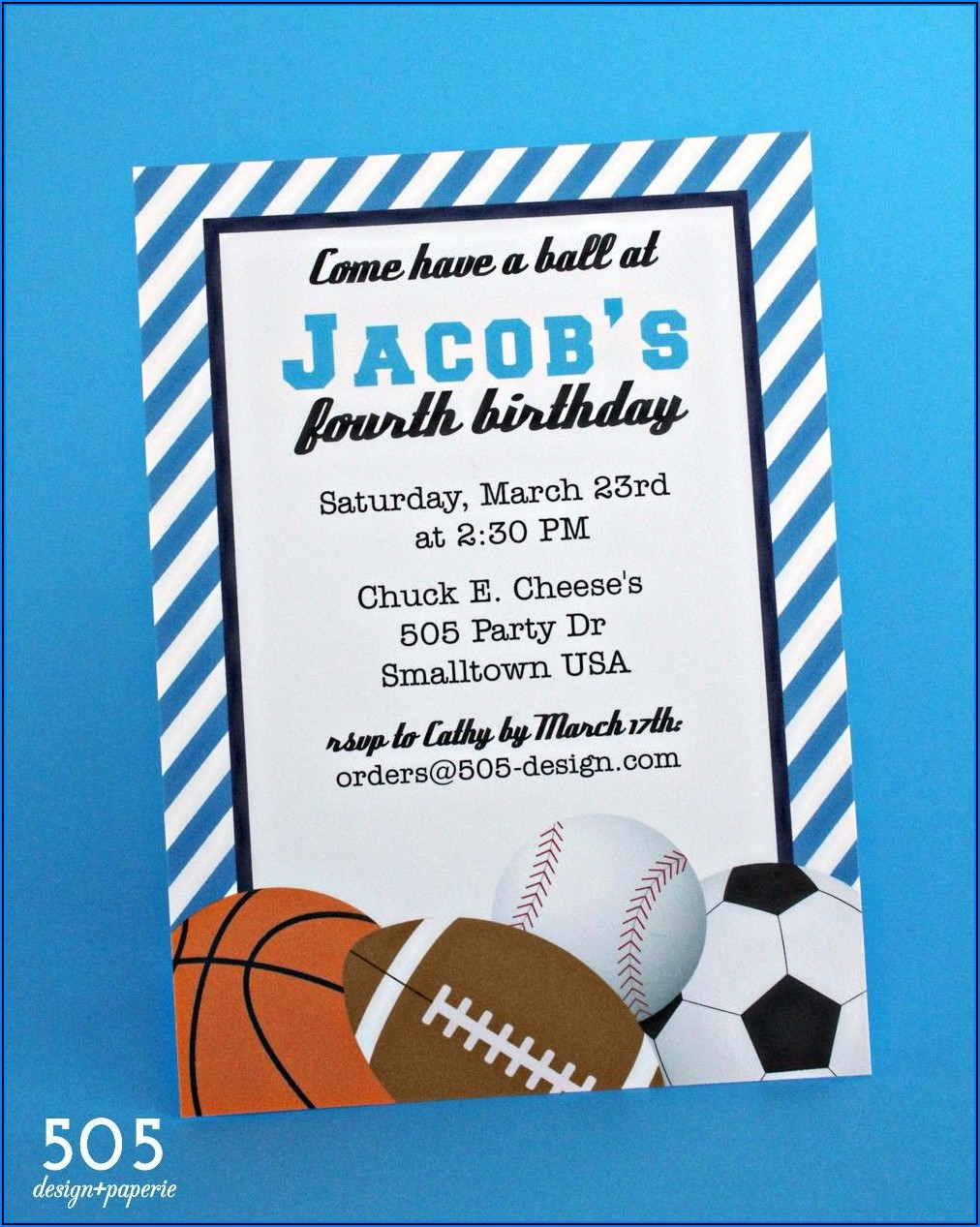 Boy Birthday Invitations Printable Free