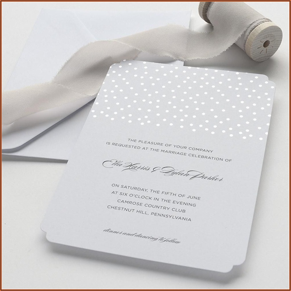 Brides Wedding Invitation Kits