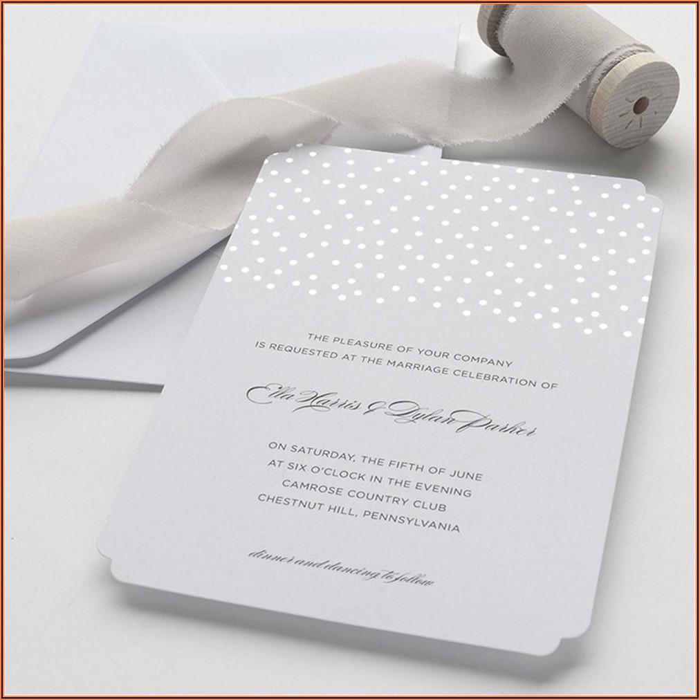 Brides Wedding Invitation Kits