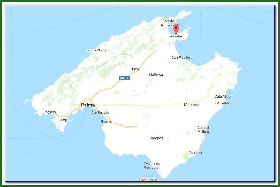 Cala Bona Map Of Hotels