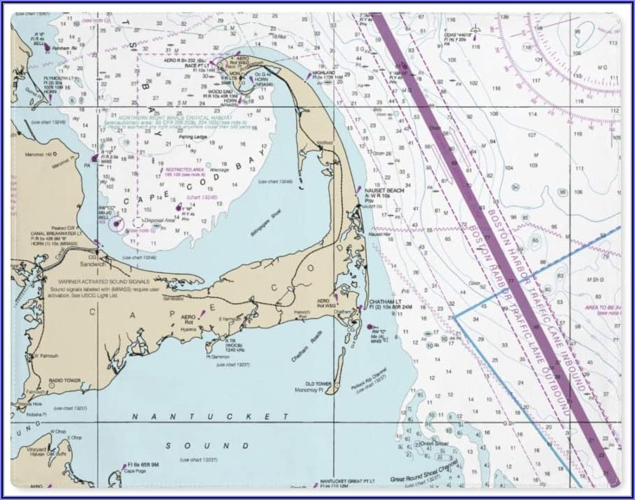 Cape Cod Bay Nautical Chart