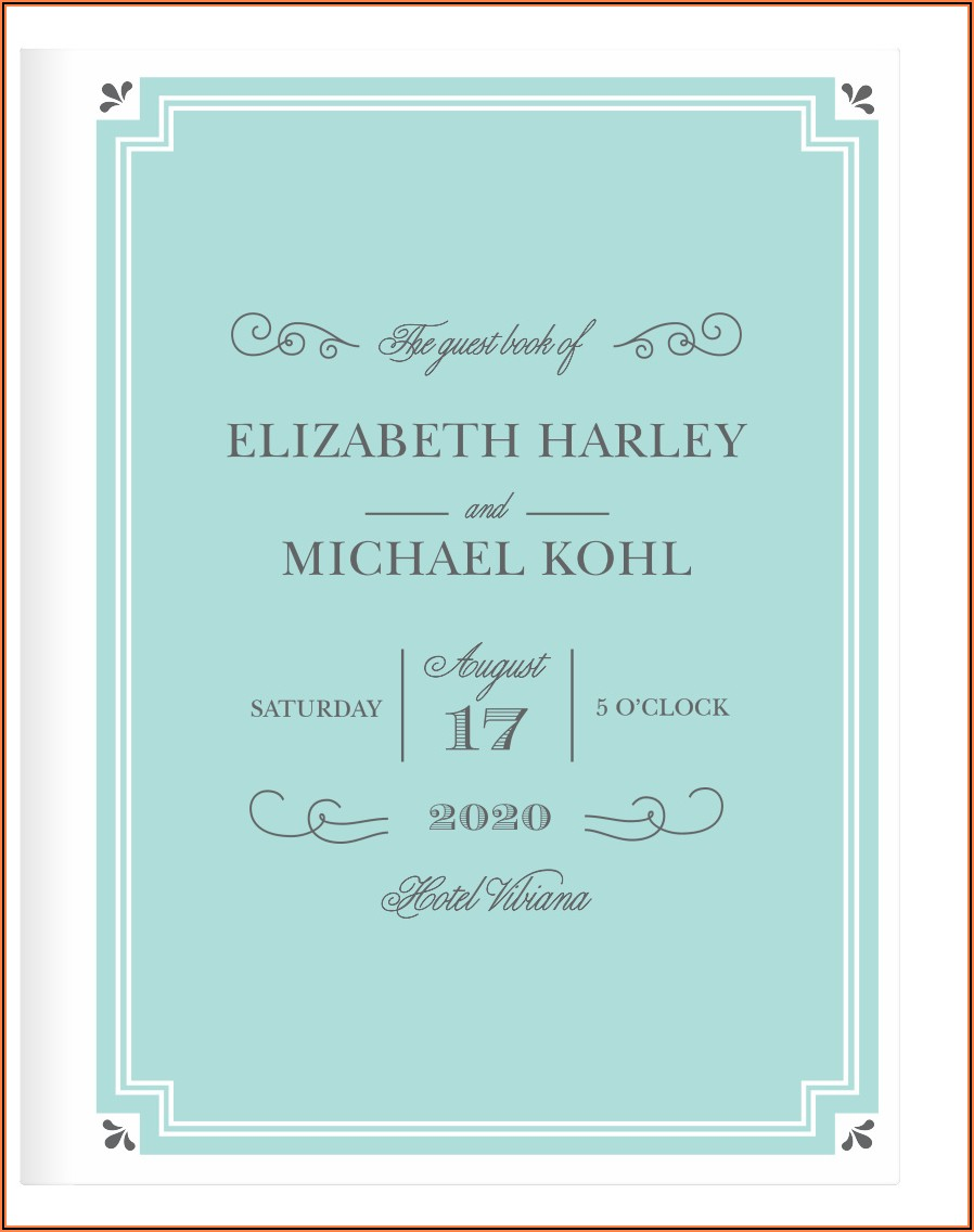 Chic Wedding Invite Cards