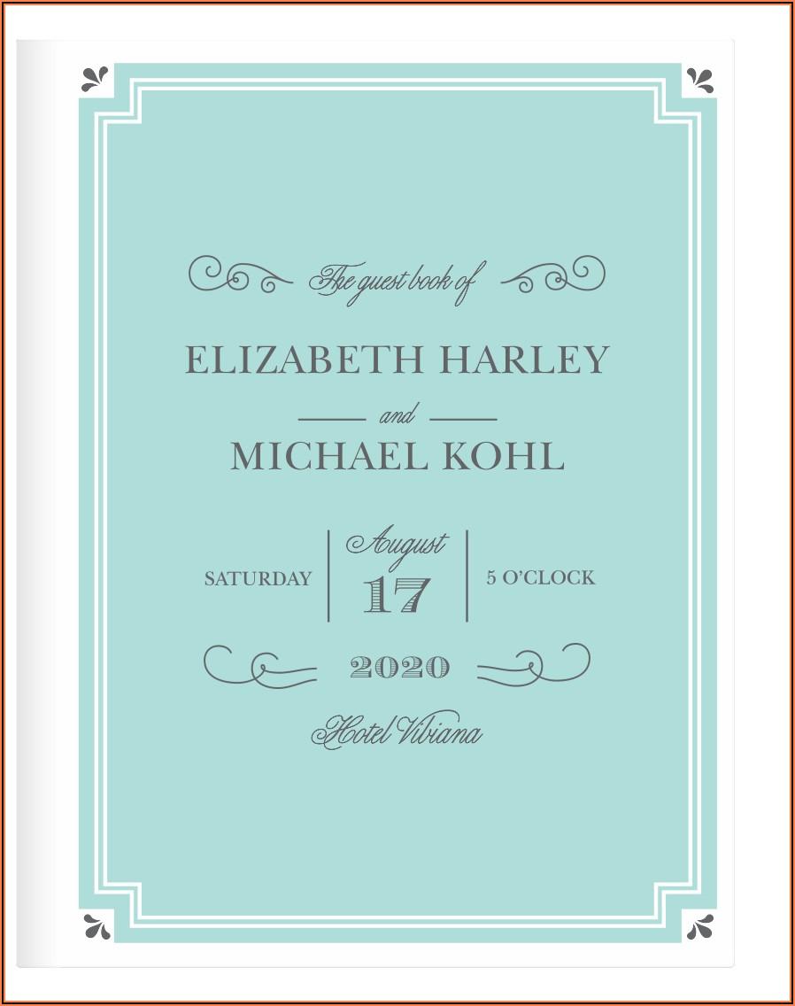 Chic Wedding Invite Cards
