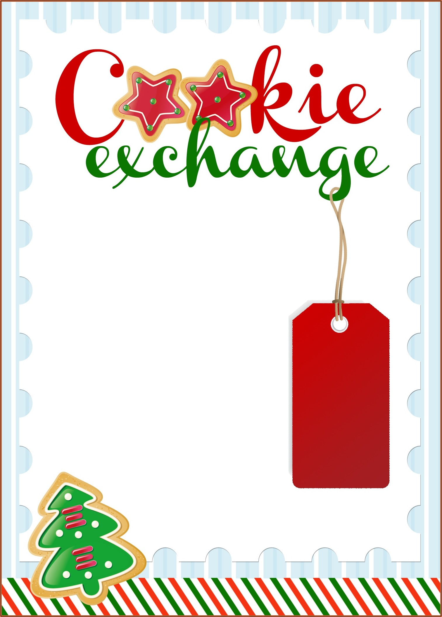 Christmas Invitation Templates Editable Free
