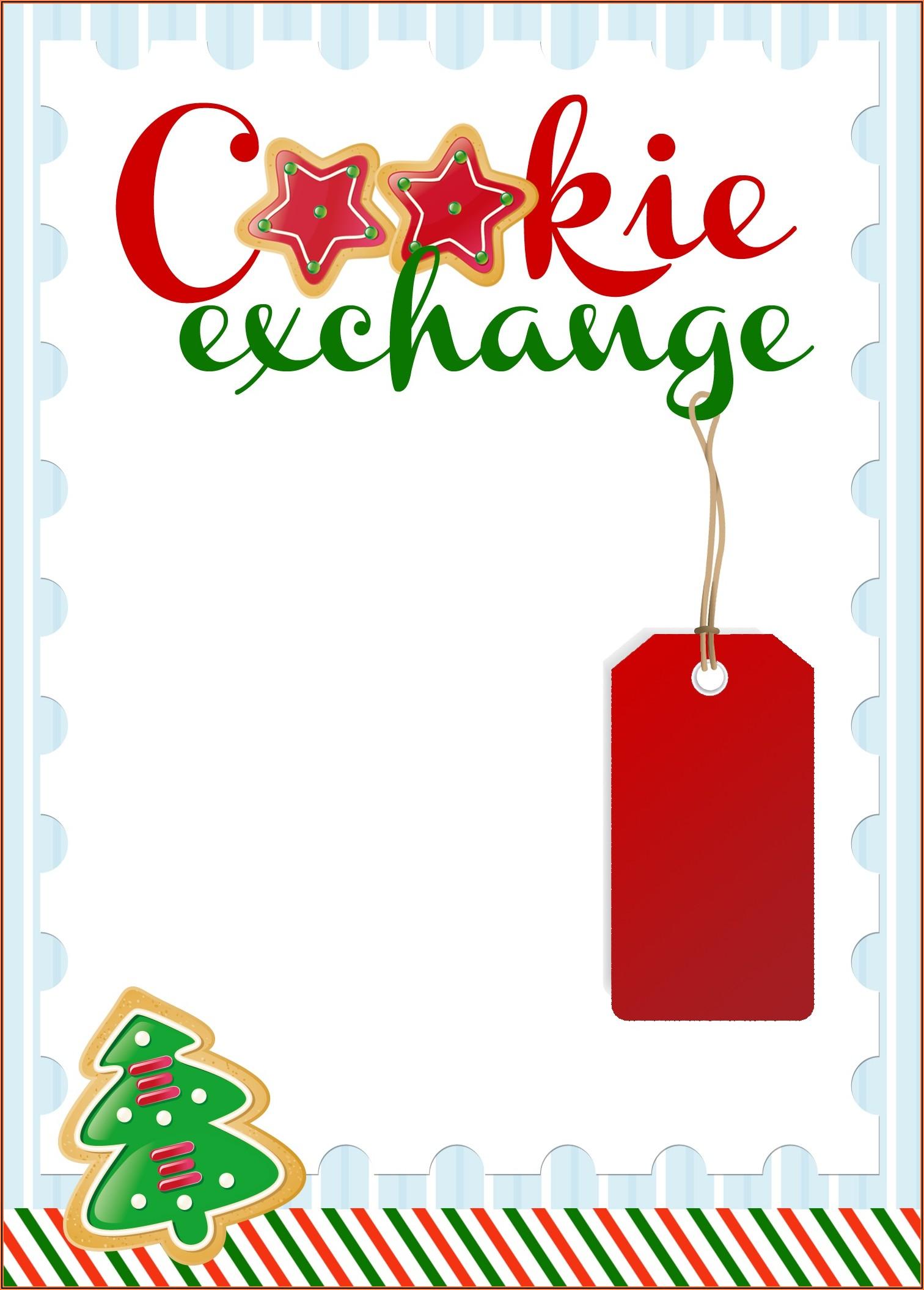 Christmas Invitation Templates Editable Free