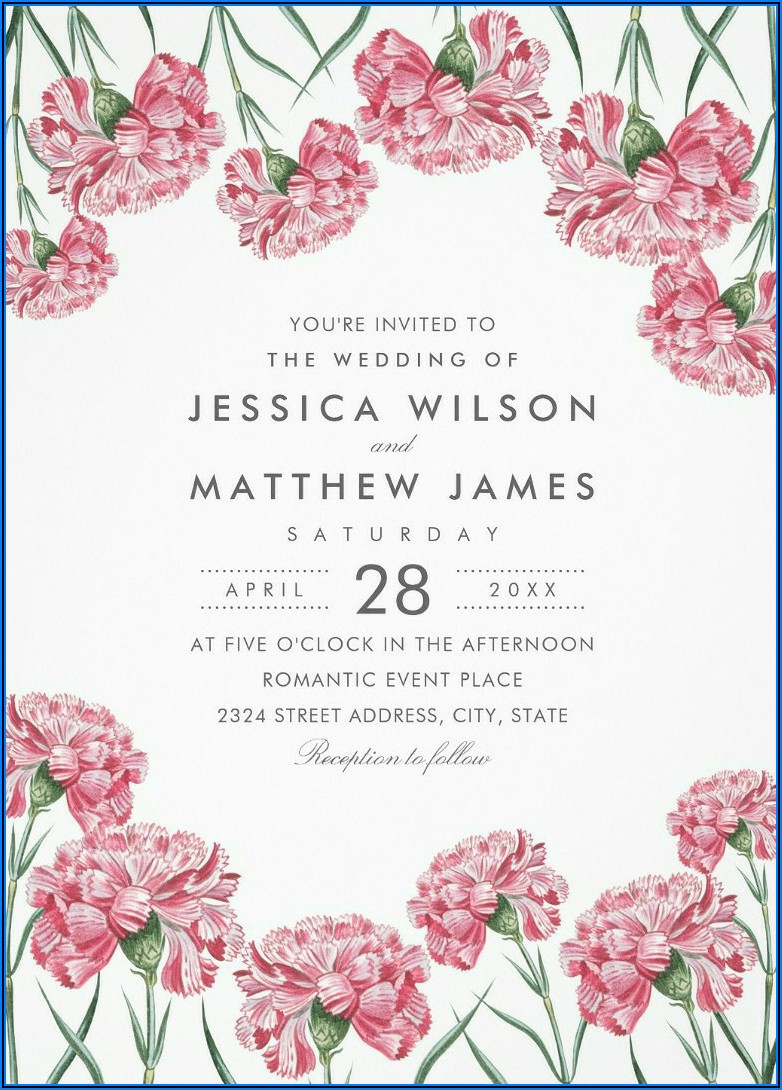 Classic Vintage Wedding Invitations