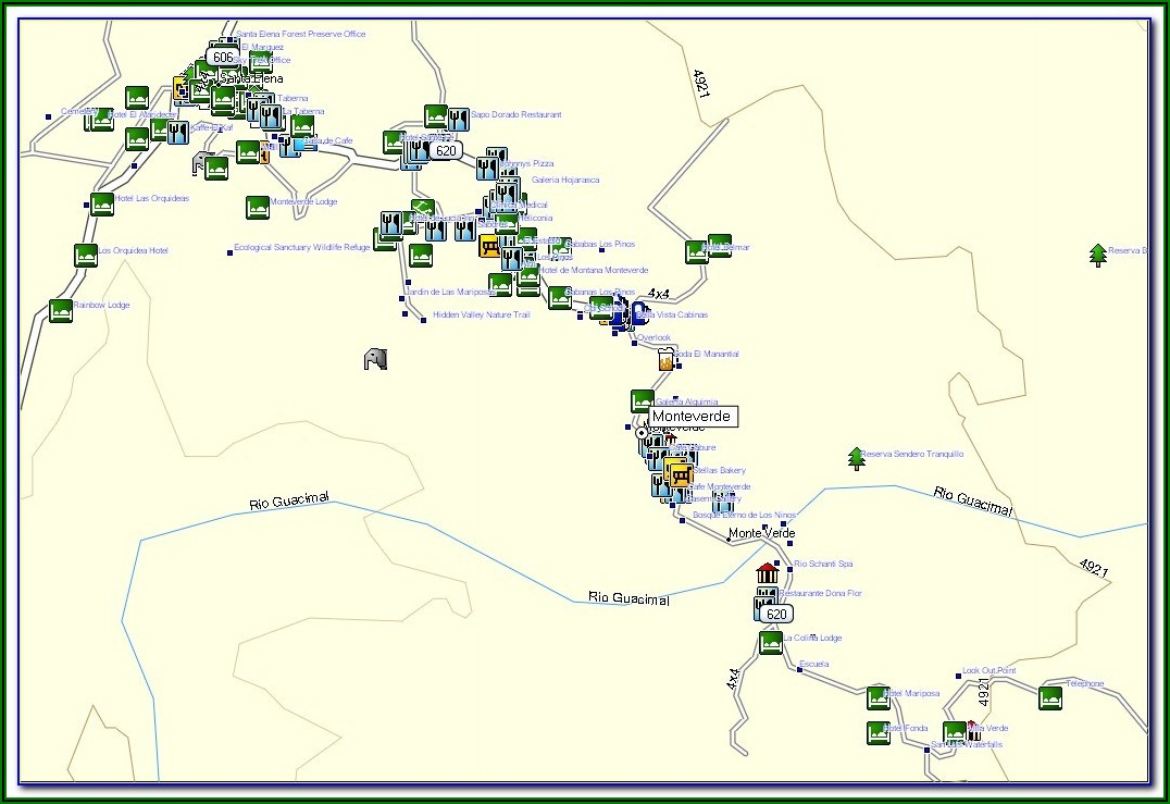 Costa Rica Gps Map For Garmin Free