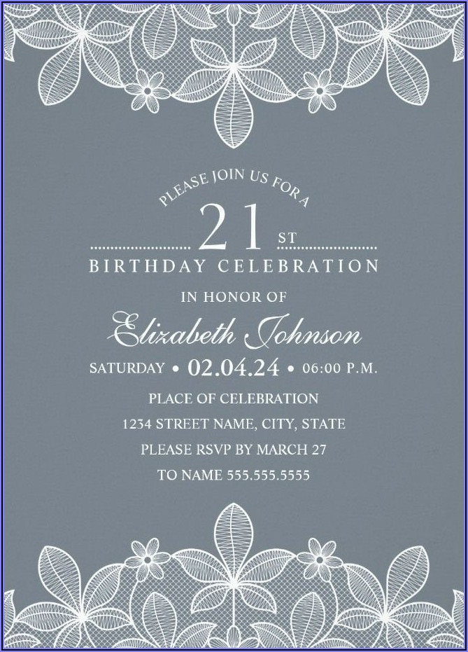 Create Personalized Birthday Invitations Online