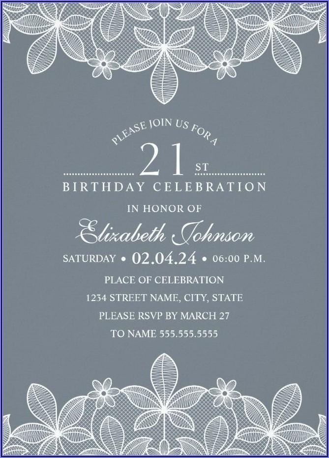 Create Personalized Birthday Invitations Online