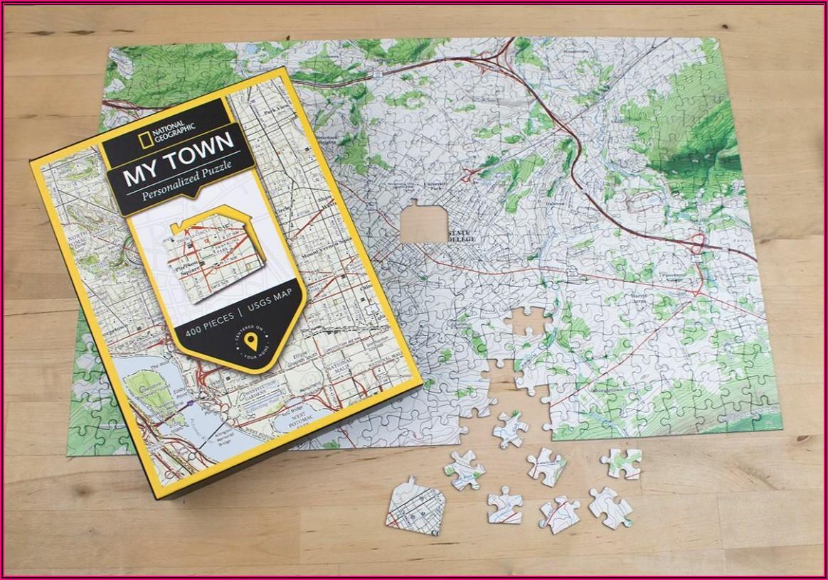 Custom Jigsaw Puzzles Maps