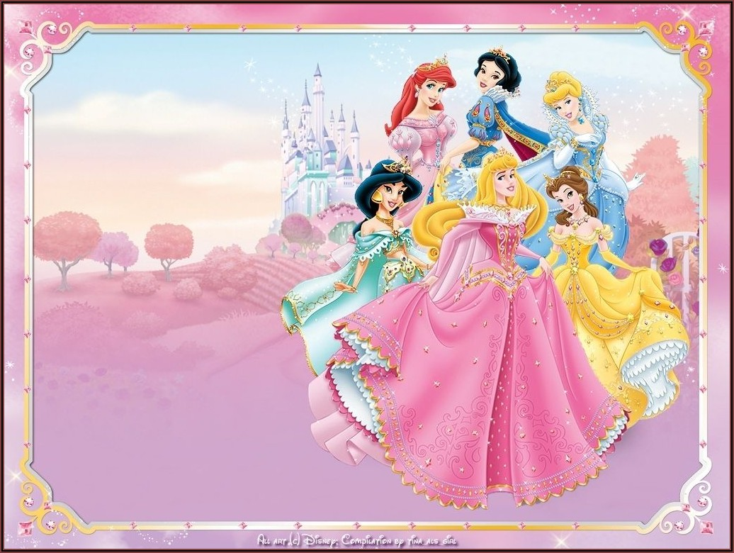 Disney Princess Invitations Free