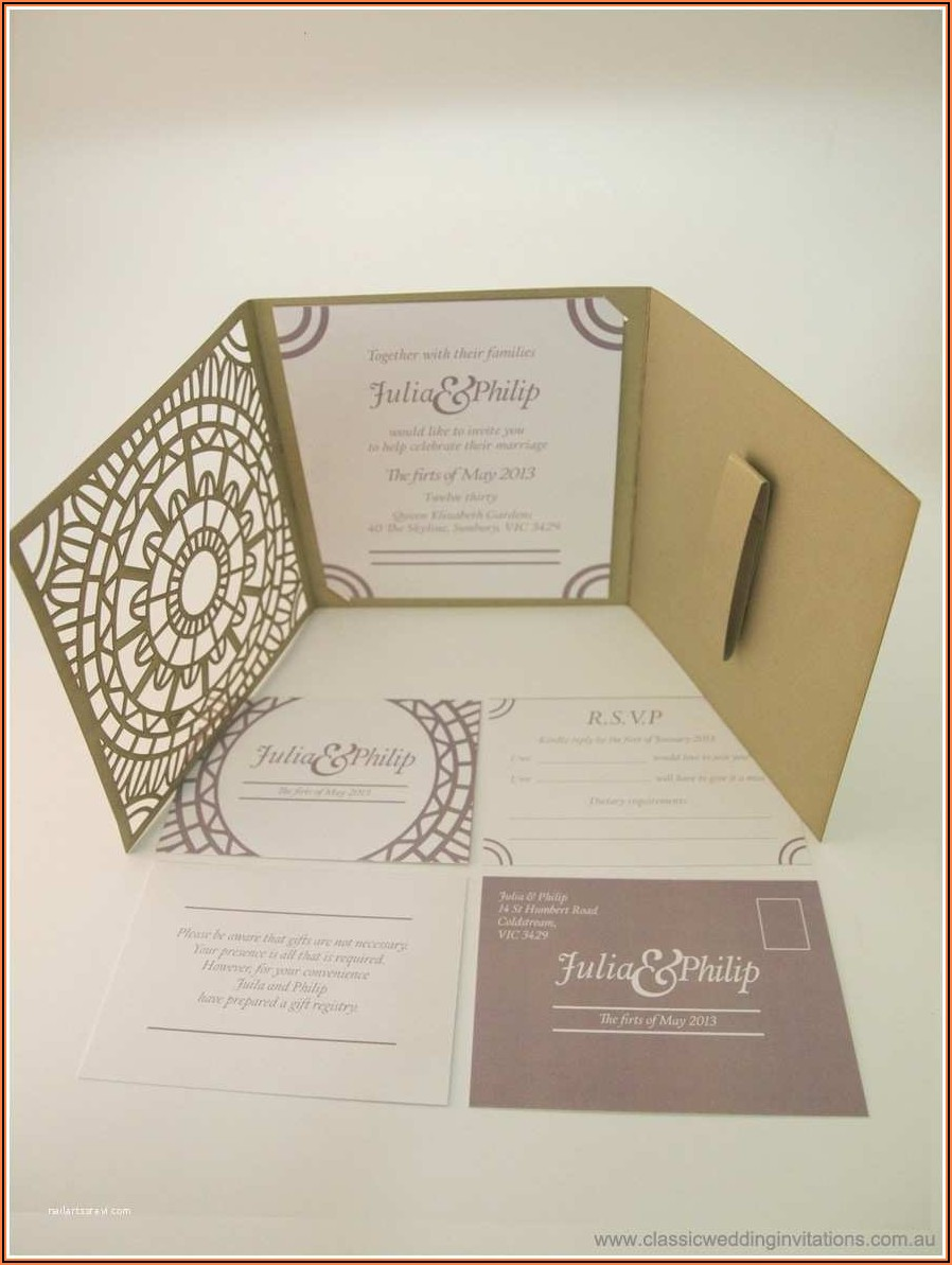 Diy Wedding Invitation Kits Canada
