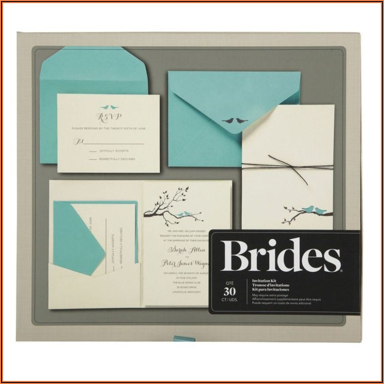 Do It Yourself Wedding Invitation Kits