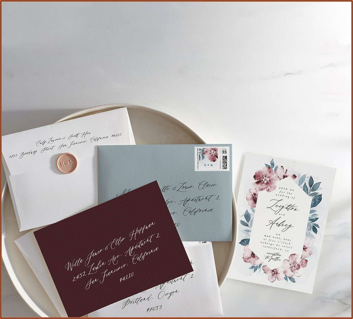 Do Vistaprint Wedding Invitations Come With Envelopes