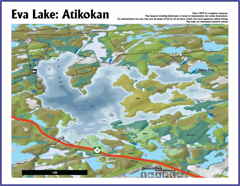 Downloadable Fishing Maps Ontario Lakes