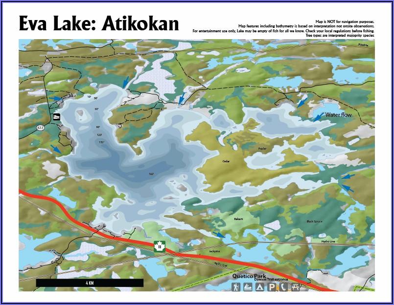 Downloadable Fishing Maps Ontario Lakes