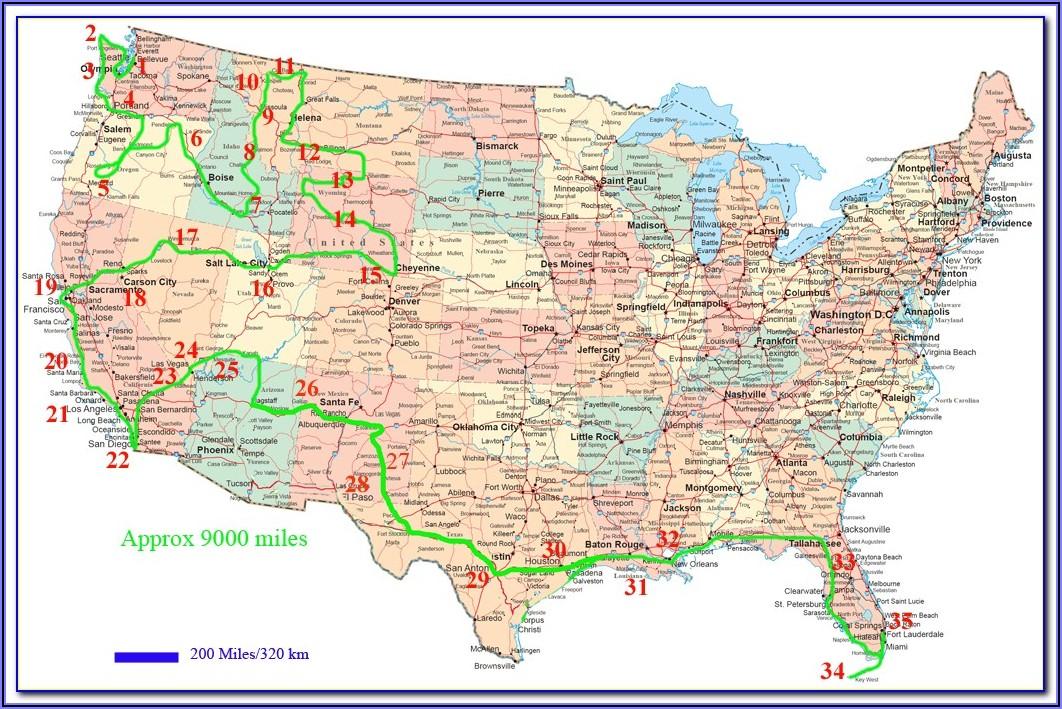 Dvd Navigation Map North America Toyota Sienna