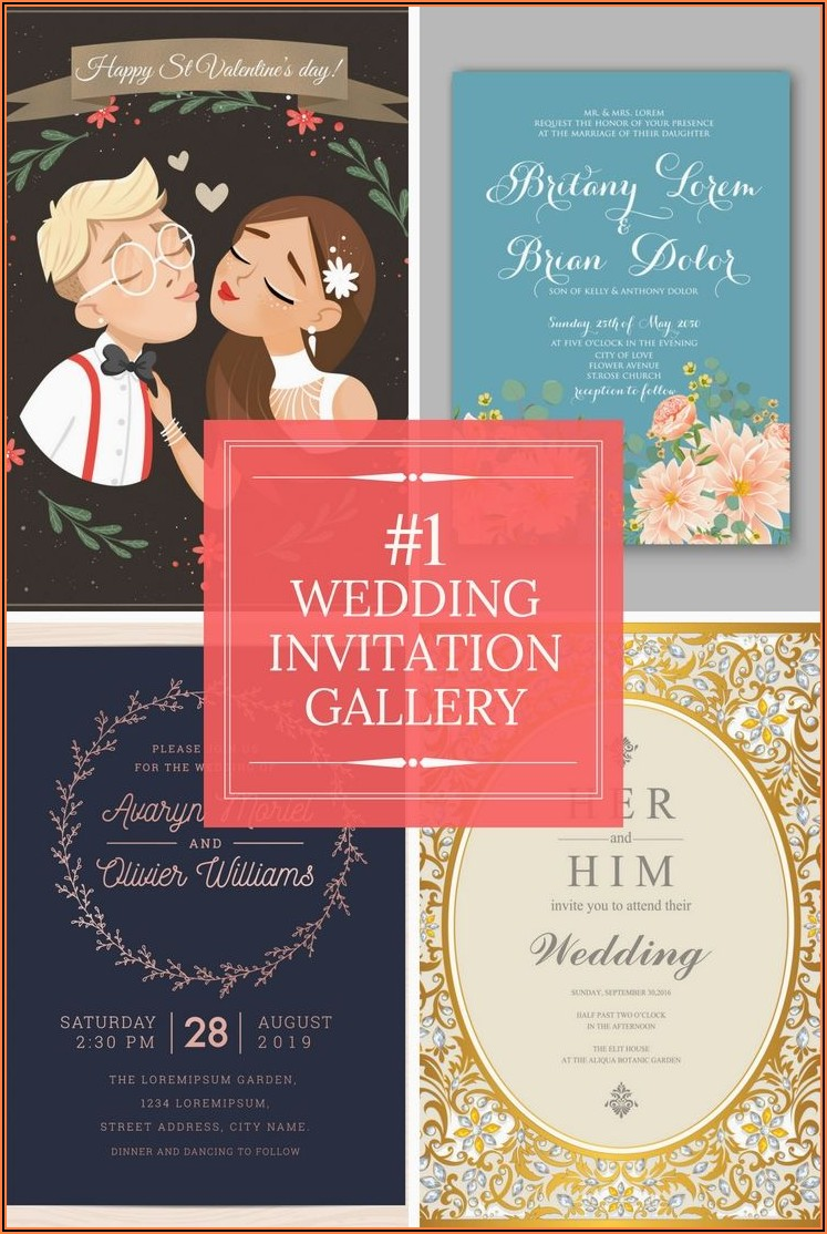 Elegant Wedding Invitation Cards Online