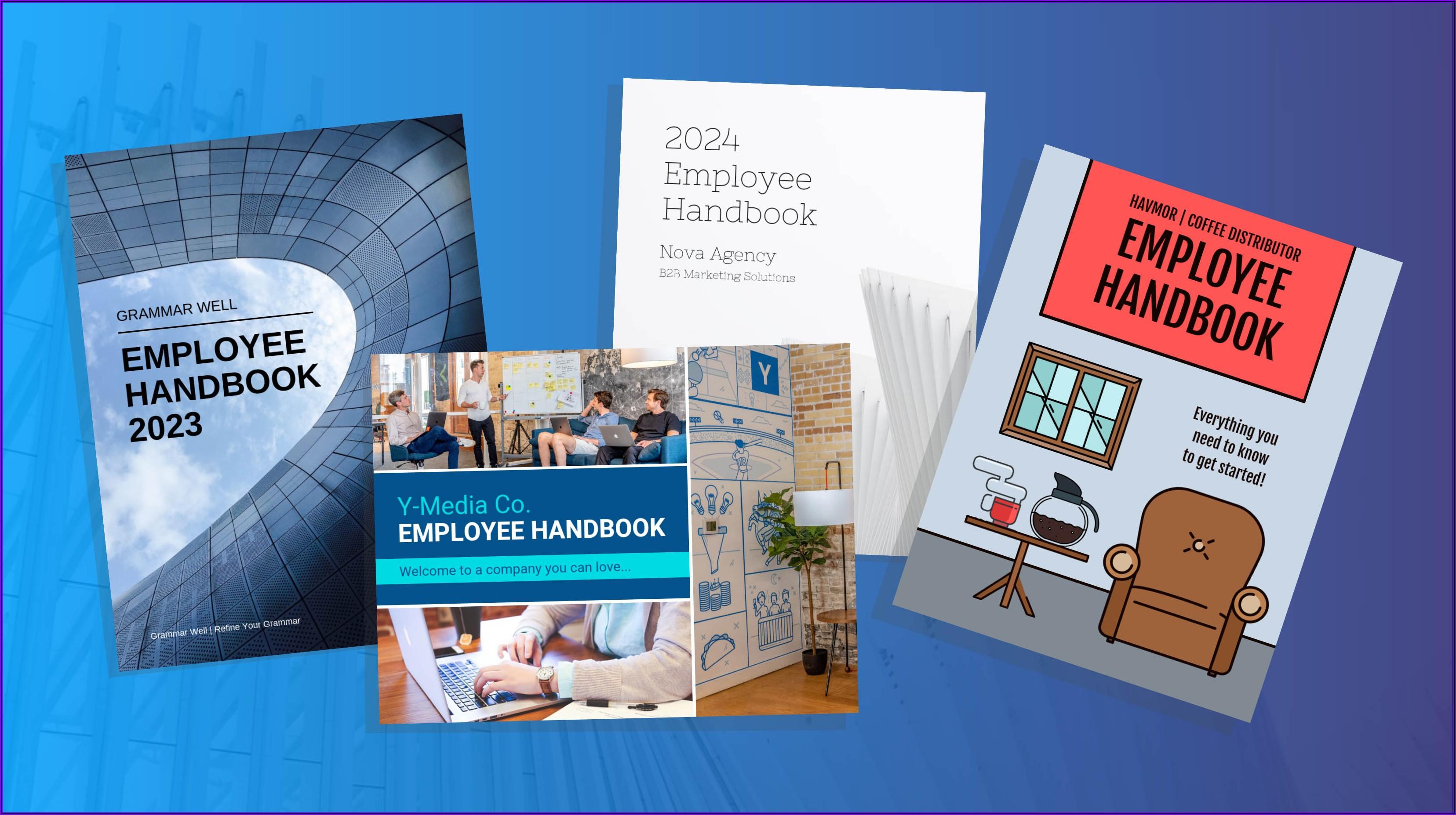 Employee Manual Sample