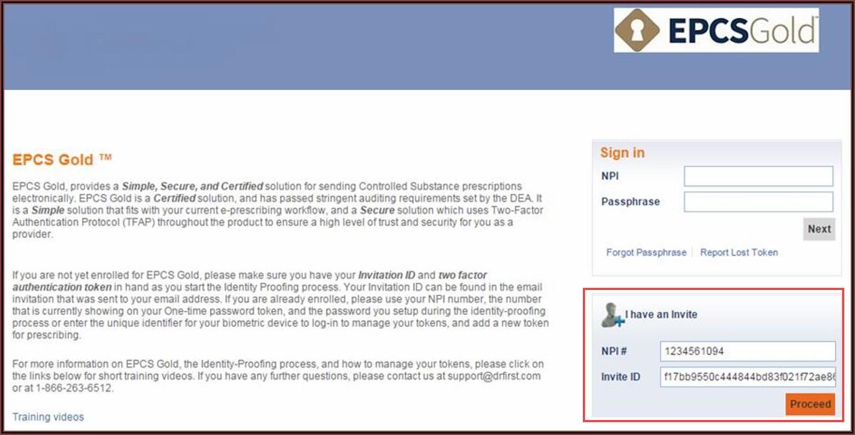 Epcs Gold Invite Consume
