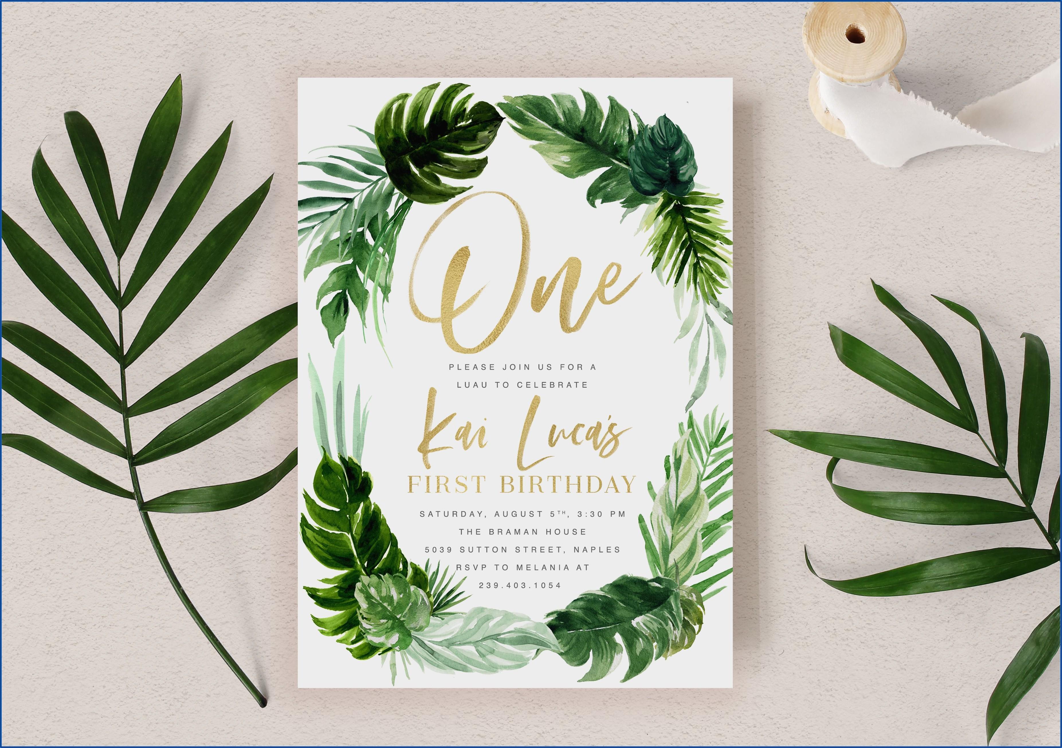 Etsy Baby Boy 1st Birthday Invitations