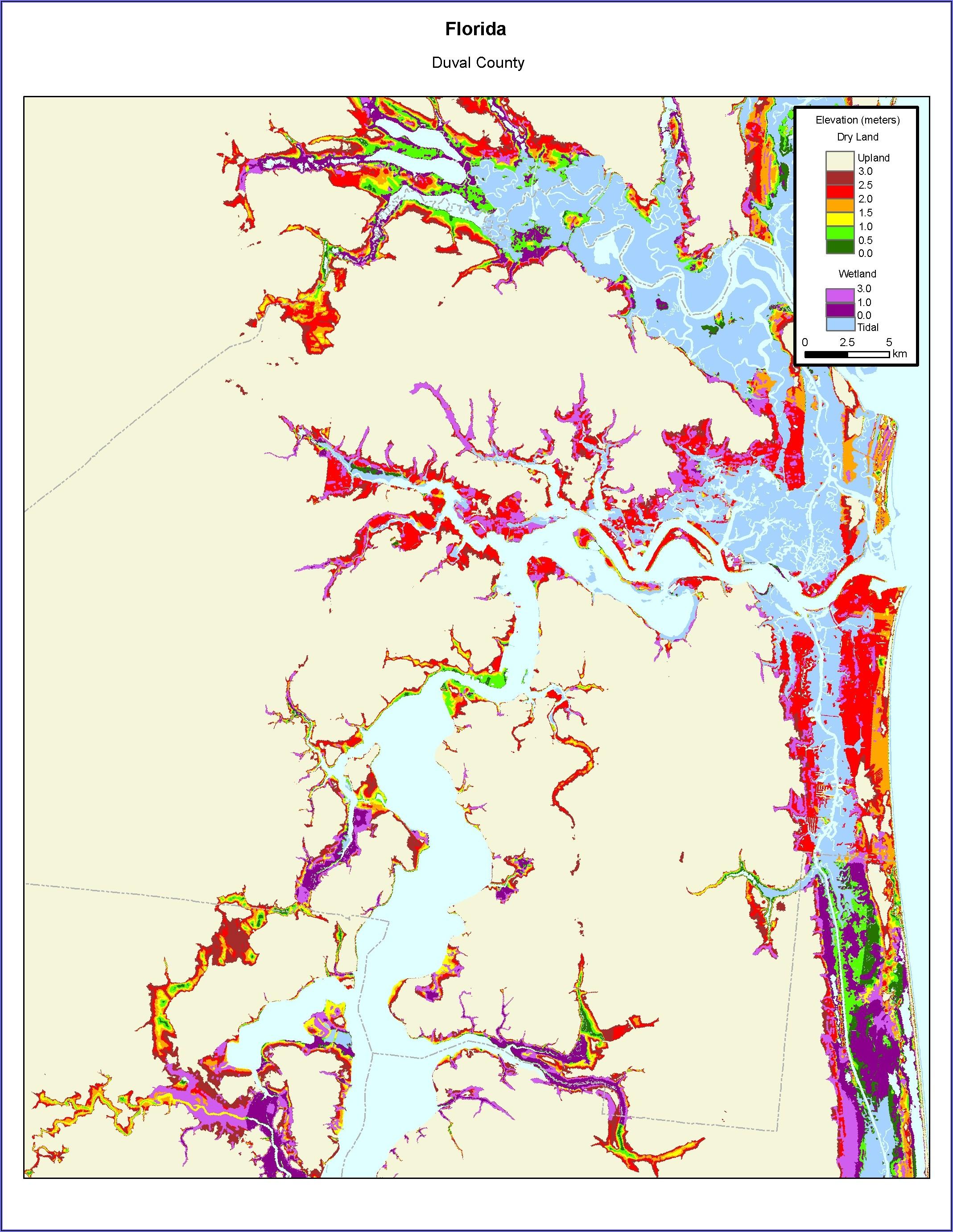 Fema Flood Zone Map Duval County Florida