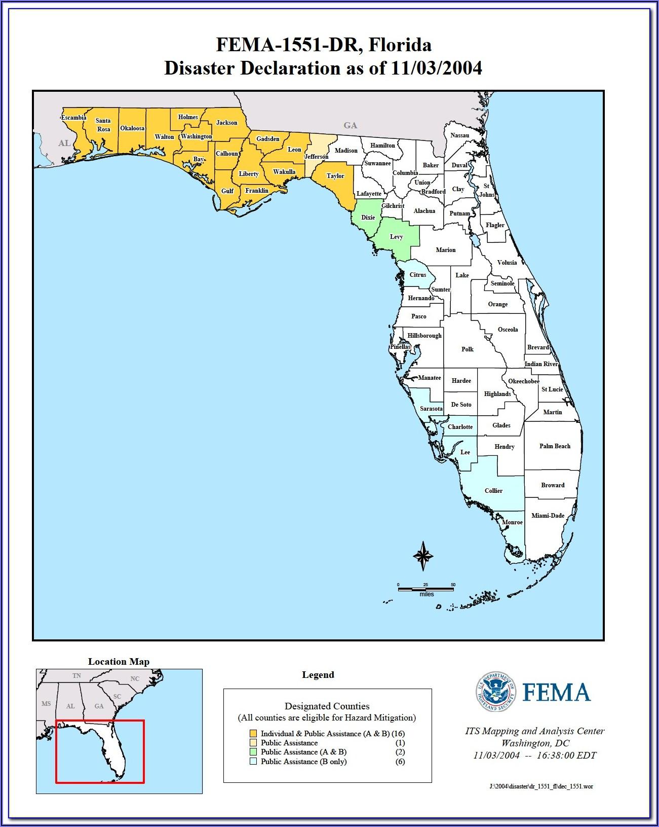 Fema Flood Zone Maps Florida