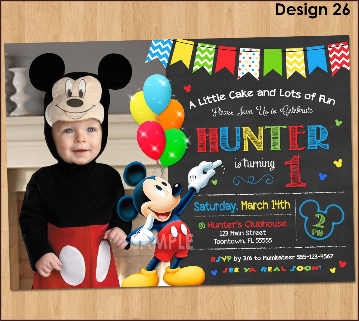 First Birthday Invitations Ideas