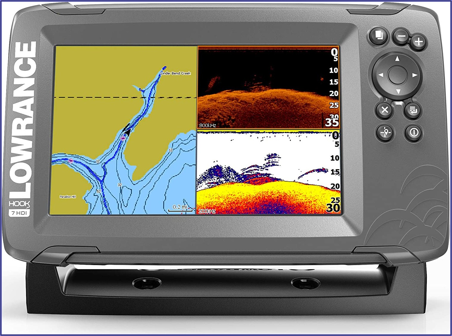 Fish Finder With Maps And Gps