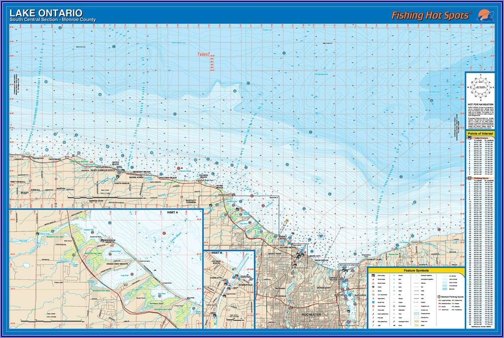 Fishing Maps Ontario Lakes