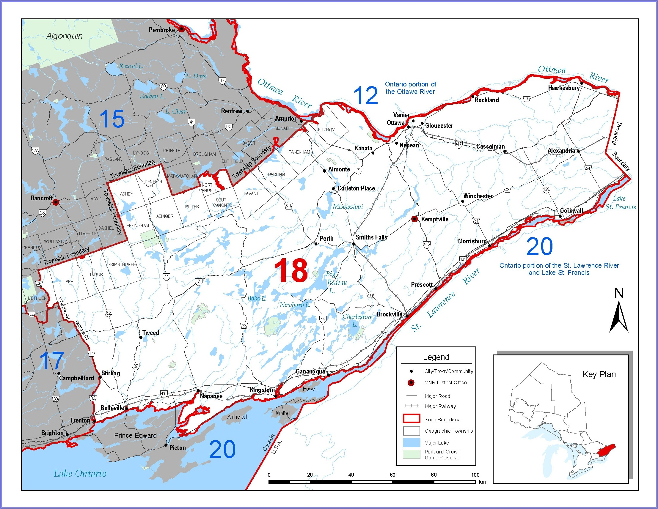 Fishing Maps Ontario