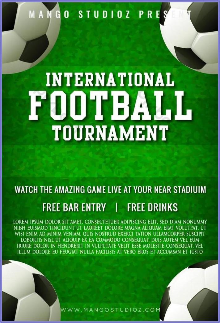 Football Poster Template Ai