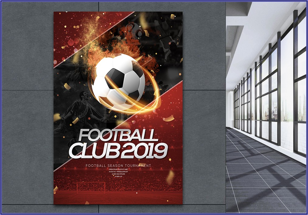 Football Poster Templates