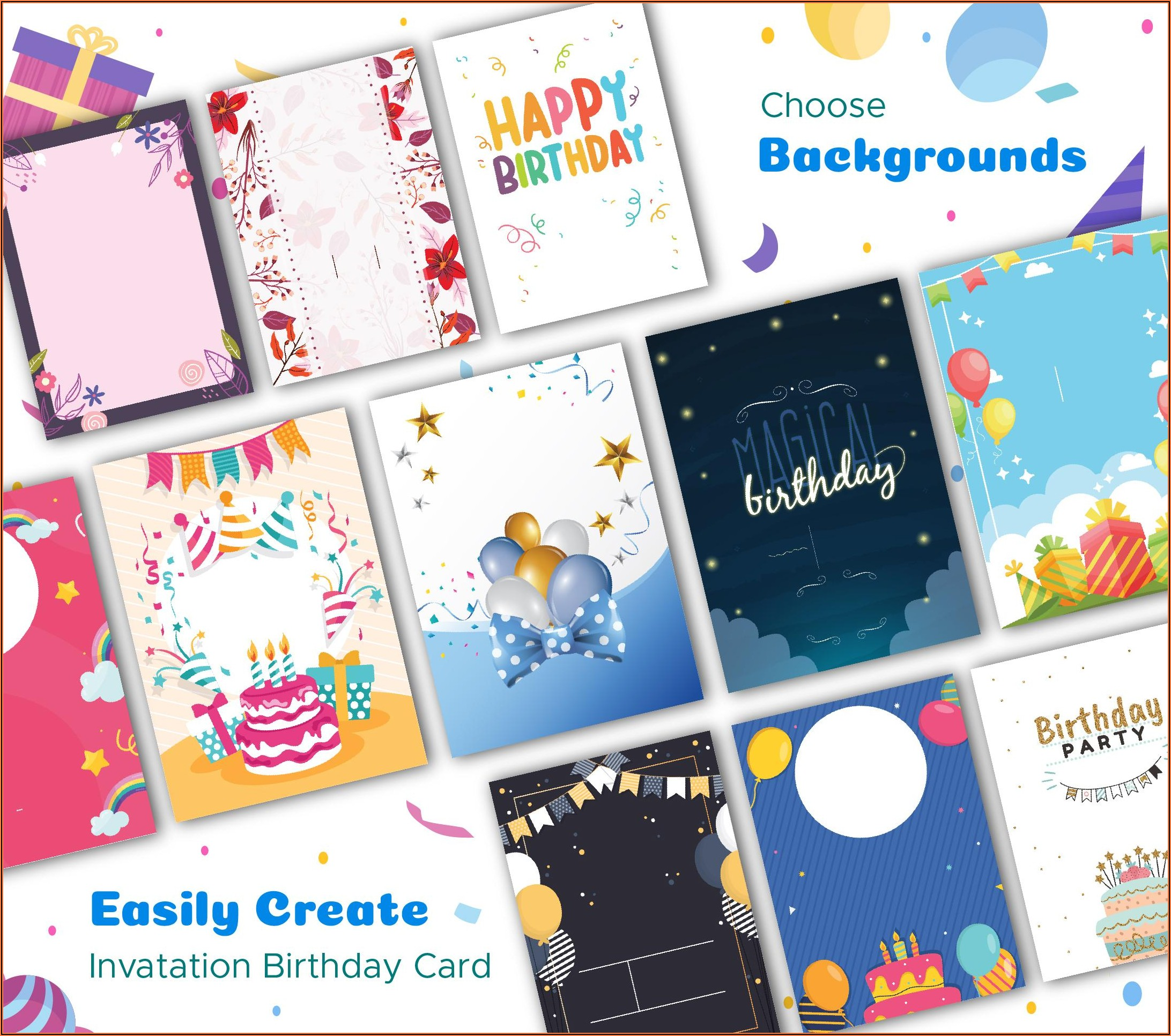 Free Birthday Invitation Maker Download