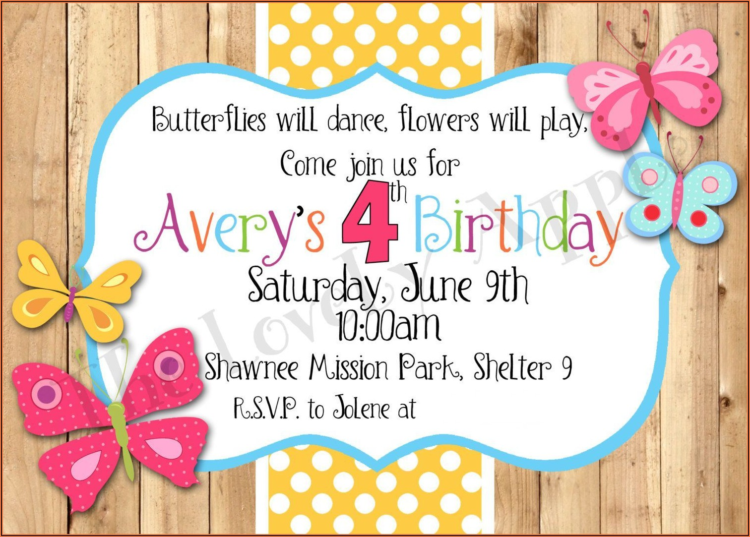 Free Birthday Invitations Printable