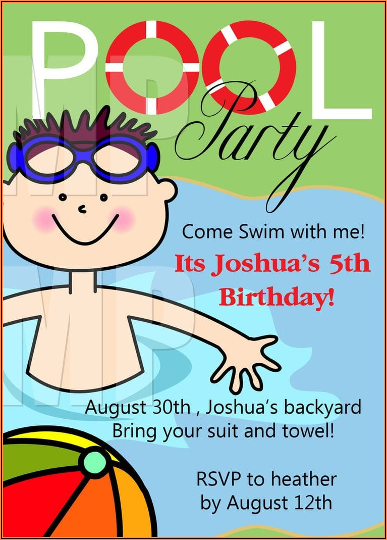 Free Birthday Party Invitations Printable