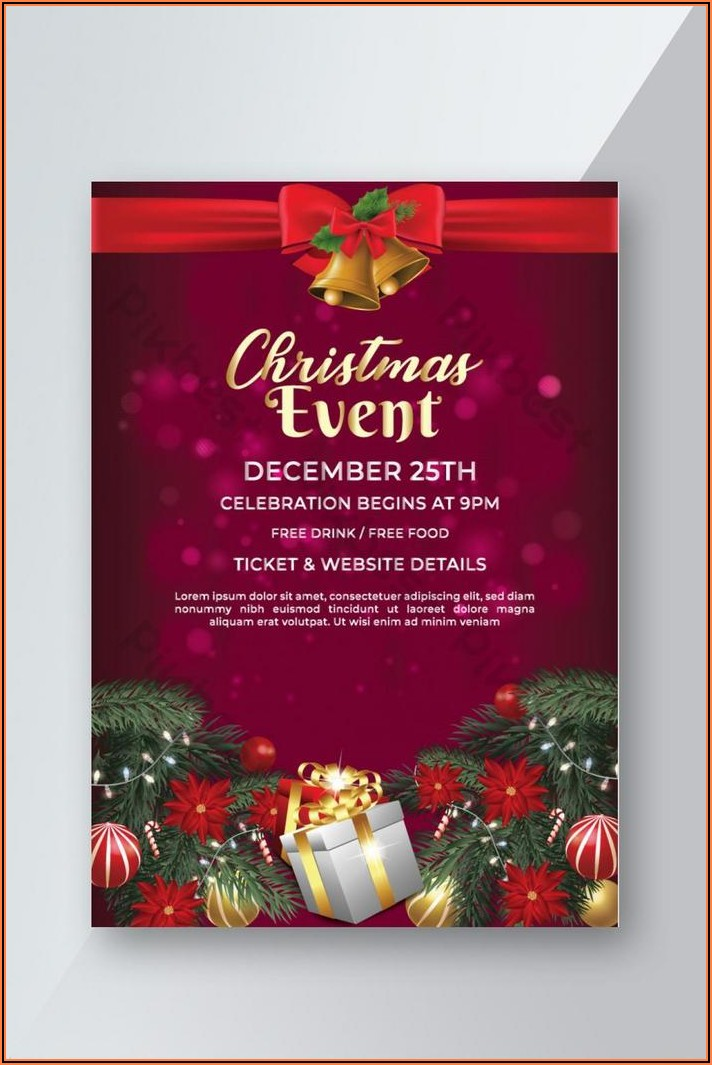 Free Christmas Invitation Templates Download