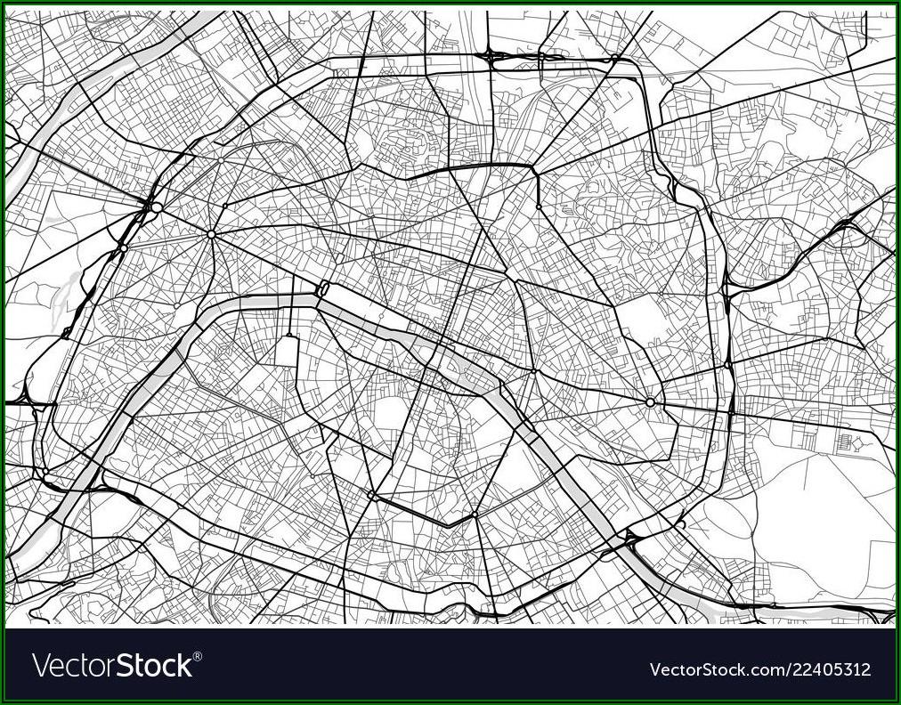 Free City Map Of Paris
