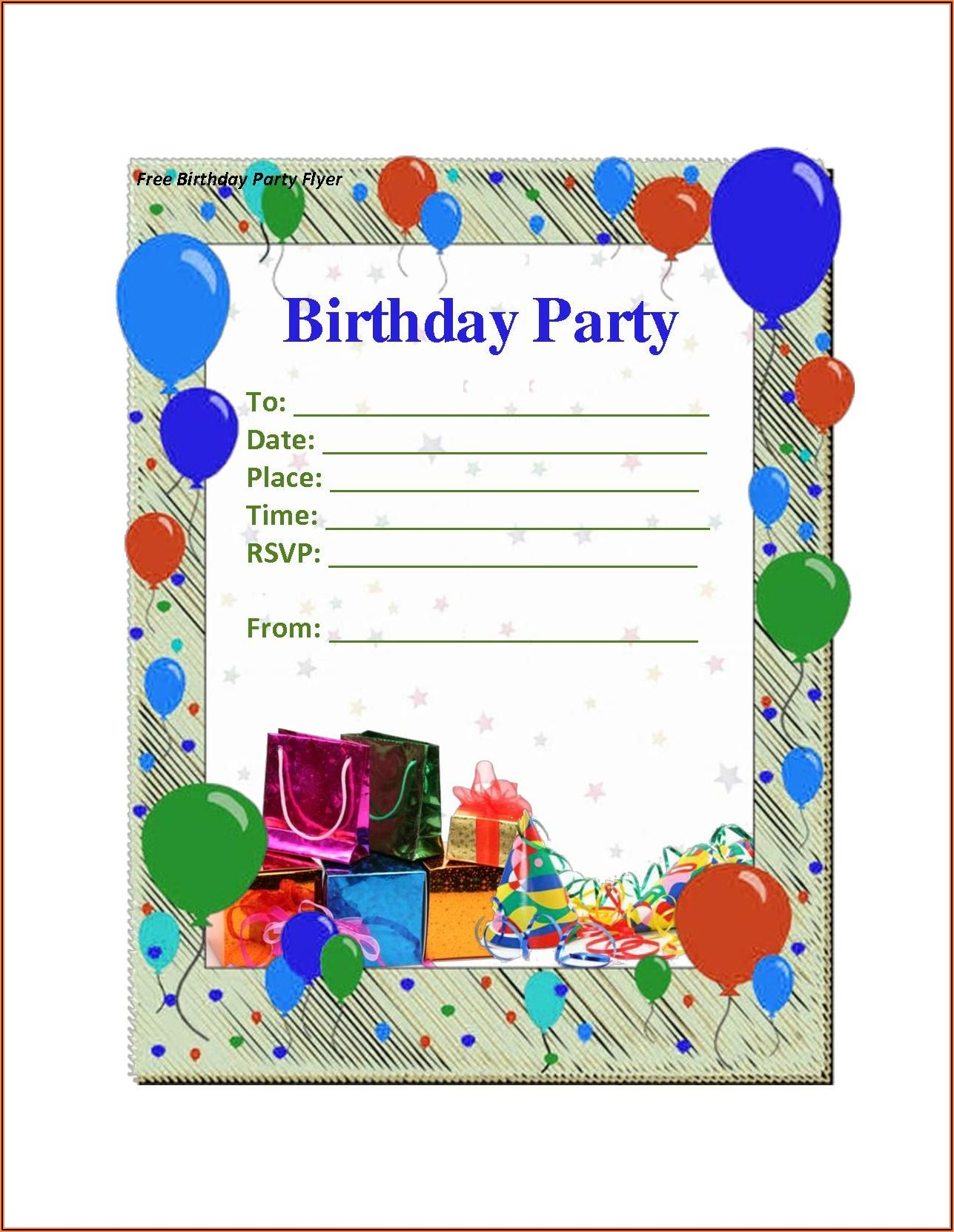 Free Invitation Maker Online Printable