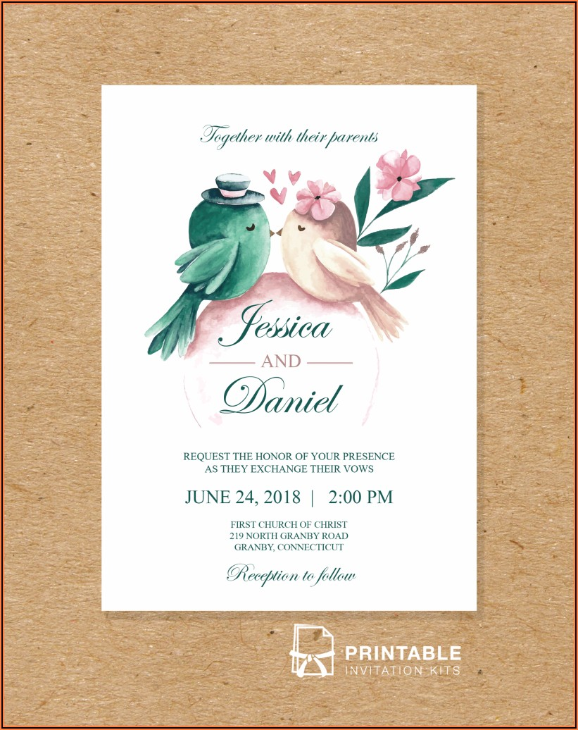Free Invitation Templates Download And Print
