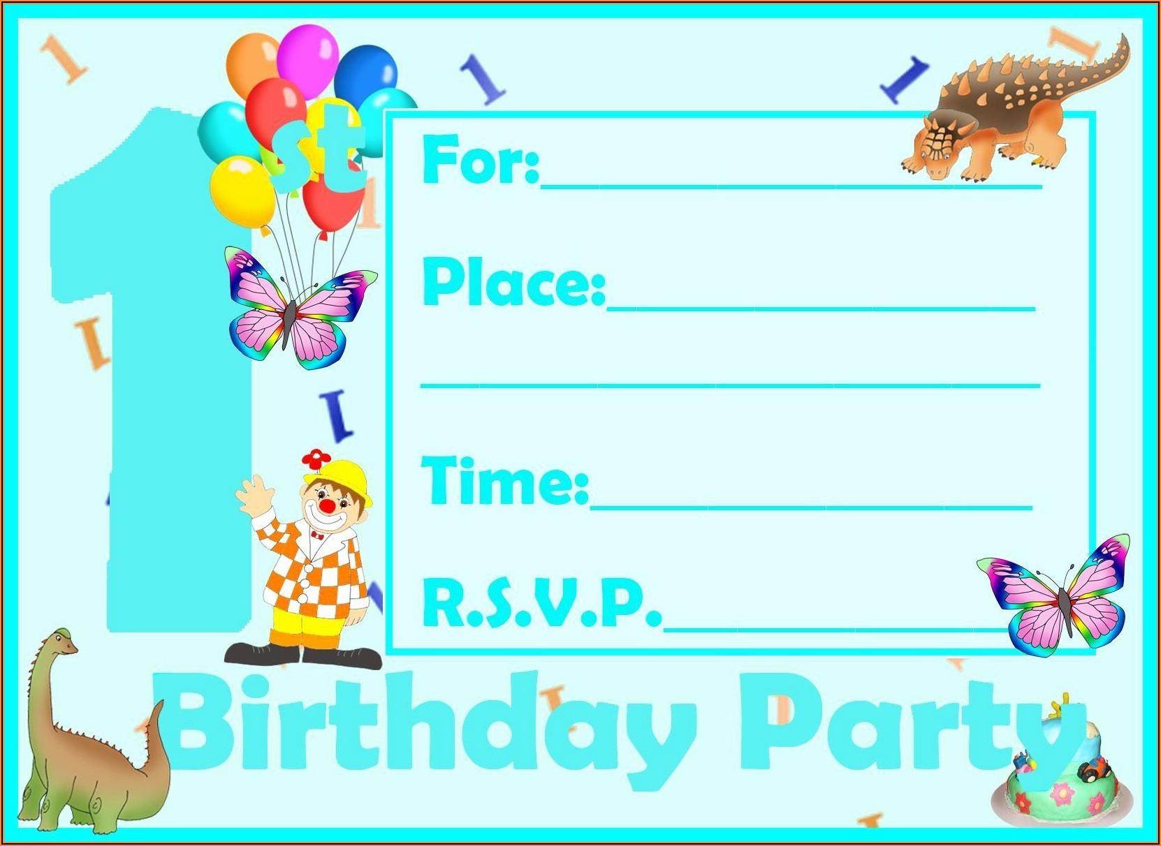 Free Invite Maker Printable