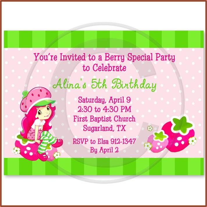 Free Personalized Birthday Invitations Printable