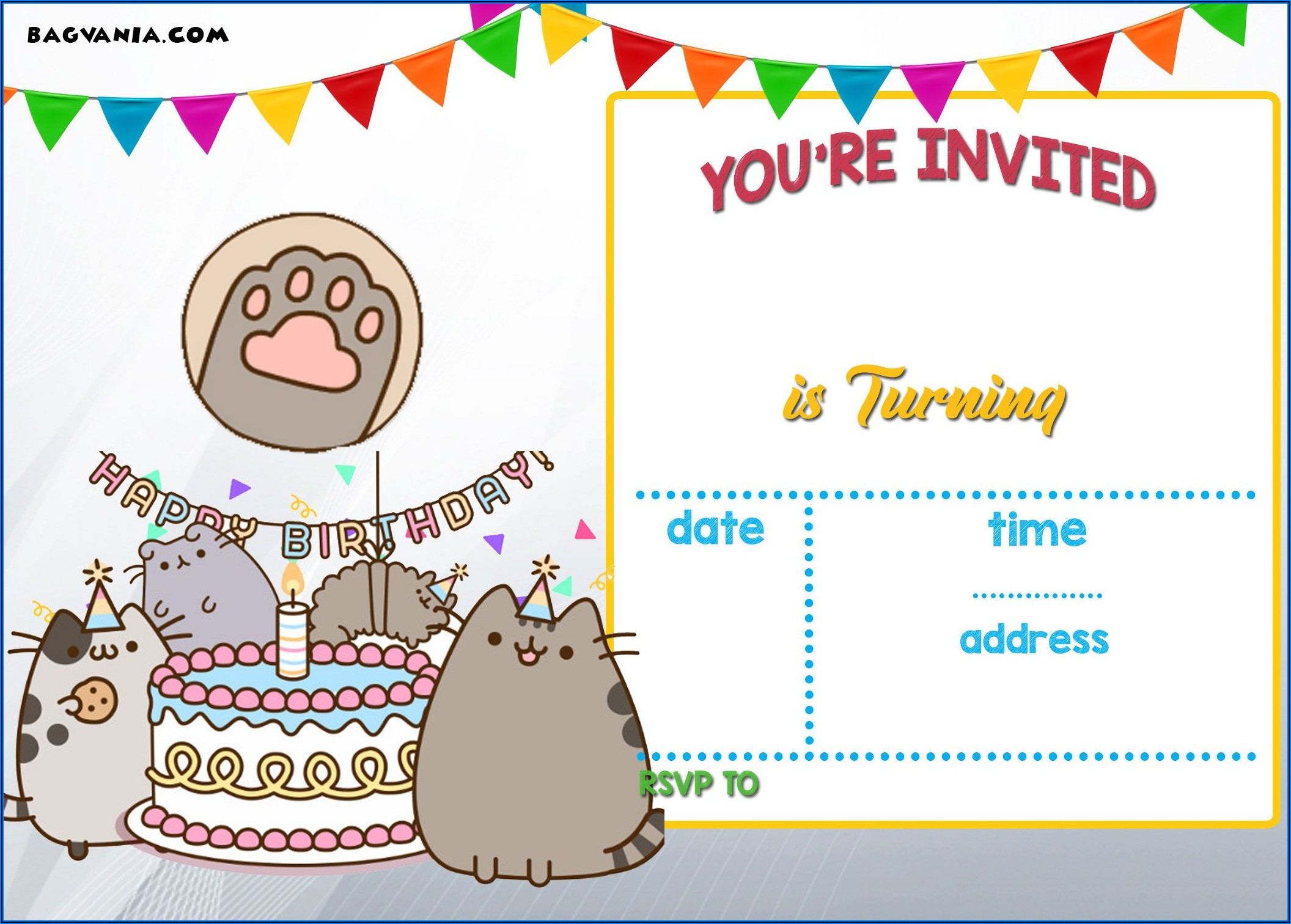 Free Printable Birthday Invitation Templates Pdf