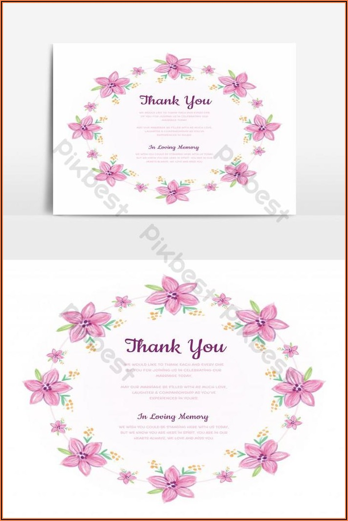 Free Wedding Invitation Template Png