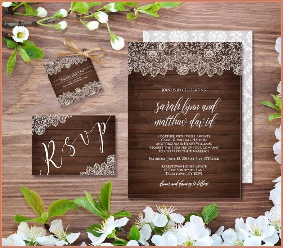 Free Wedding Invitation Templates Editable
